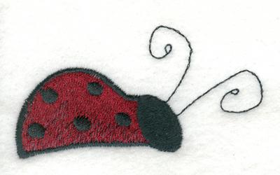"""Embroidery Design: Ladybug 22.95"""" x 1.79"""""""