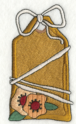 """Embroidery Design: Think Spring Deco 22.20"""" x 3.91"""""""