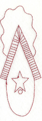 """Embroidery Design: Snickerdoodle Country Birdhouse - Round Bottom (large)2.26"""""""