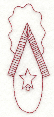 """Embroidery Design: Snickerdoodle Country Birdhouse - Round Bottom1.5"""" x 3.91"""""""