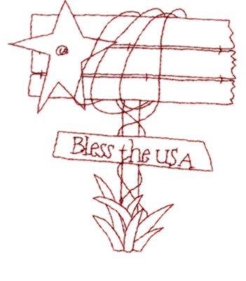 """Embroidery Design: Sign Post Snickerdoodle3.64"""" x 4.00"""""""