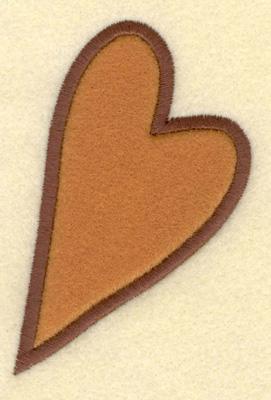 Embroidery Design: Heart Applique2.62w X 3.69h