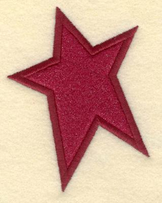 Embroidery Design: Star Applique3.02w X 3.077h