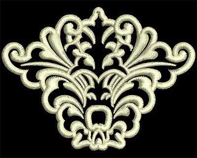 Embroidery Design: Fancy Elements 1 Design 2 2.80w X 2.07h