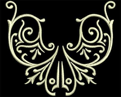Embroidery Design: Fancy Elements 1 Design 3 2.84w X 2.46h