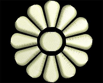 Embroidery Design: Fancy Elements 1 Design 6 1.57w X 1.57h