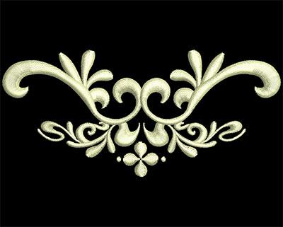 Embroidery Design: Fancy Elements 1 Design 10 4.48w X 2.04h