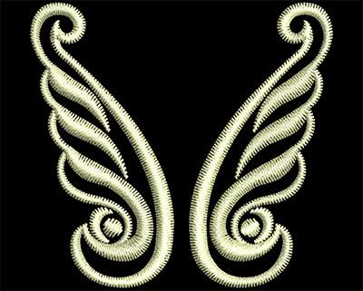Embroidery Design: Fancy Elements 1 Design 15 1.75w X 1.65h