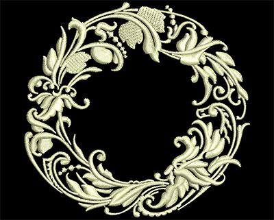 Embroidery Design: Fancy Elements 1 Design 17 3.68w X 3.52h