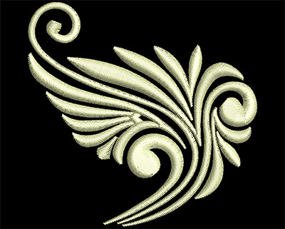 Embroidery Design: Fancy Elements 1 Design 18 2.47w X 2.43h