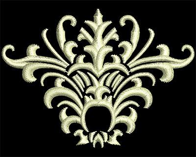 Embroidery Design: Fancy Elements 2 Design 1 2.56w X 1.84h