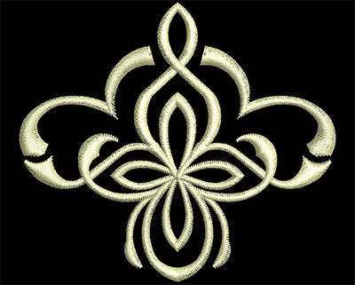 Embroidery Design: Fancy Elements 2 Design 10 2.64w X 2.33h