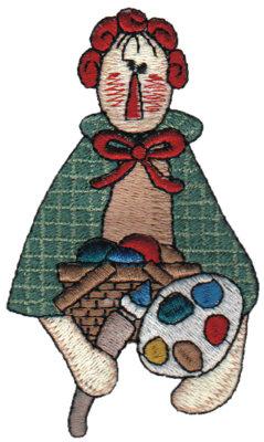 "Embroidery Design: Artisan Annie2.26"" x 3.84"""