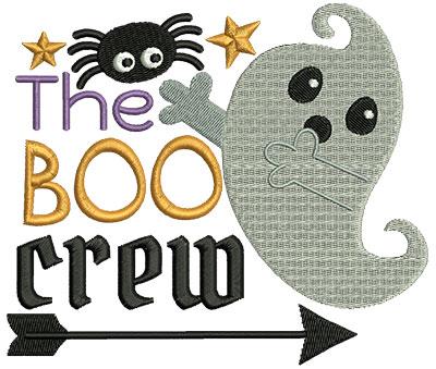 Embroidery Design: The Boo Crew 5.58w X 4.78h