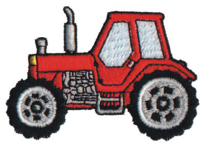 "Embroidery Design: Lil' Tractor2.99"" x 2.07"""