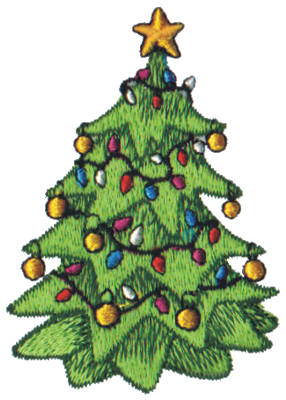 "Embroidery Design: Snow Globe Christmas Tree2.05"" x 2.98"""