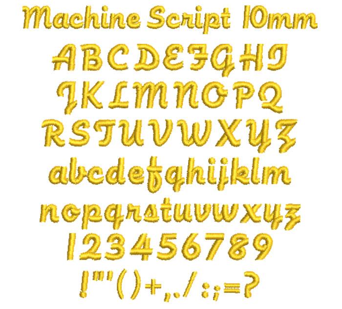 MachineScript10mm