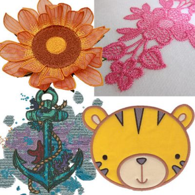 Embroidery Designs for Beginners