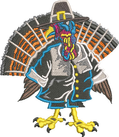 7102 Male Turkey Pilgrim