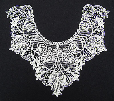Jumbo Vintage Lace 4 embroidery design