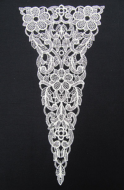 Jumbo Vintage Lace 6 embroidery design