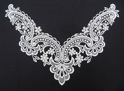 Jumbo Vintage Lace 7 embroidery design
