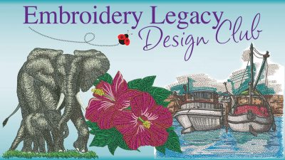 Embroidery Legacy Design Club Homepage