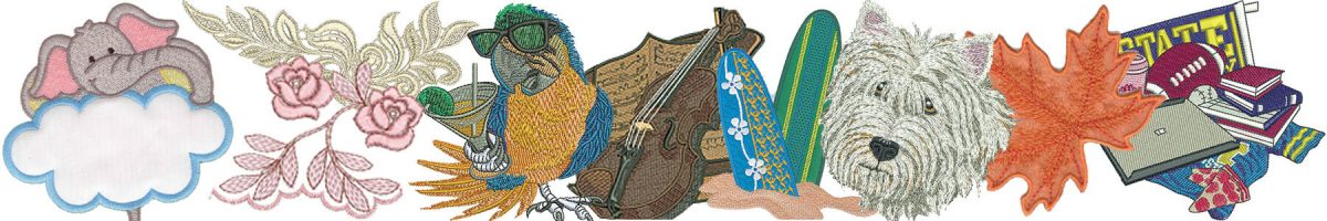 Machine Embroidery Designs Banner