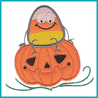 Halloween Applique