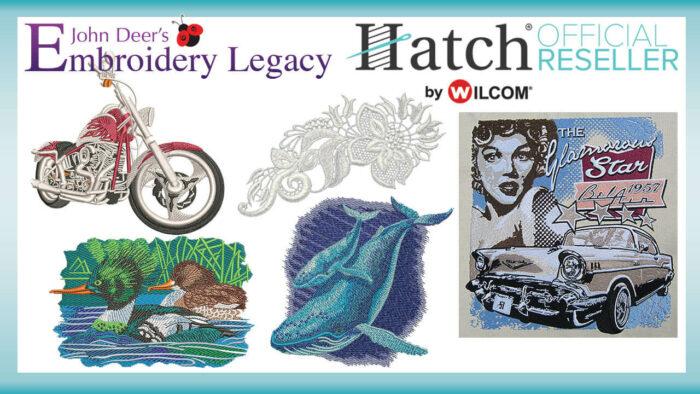 Hatch Embroidery Designs Bonus