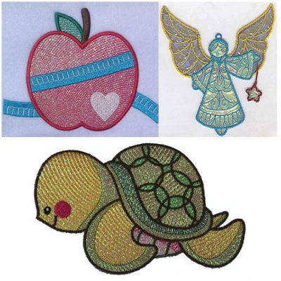 Mylar Machine Embroidery Designs