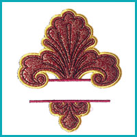 Split Applique
