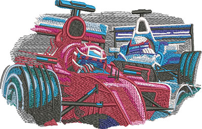 grand prix embroidery design