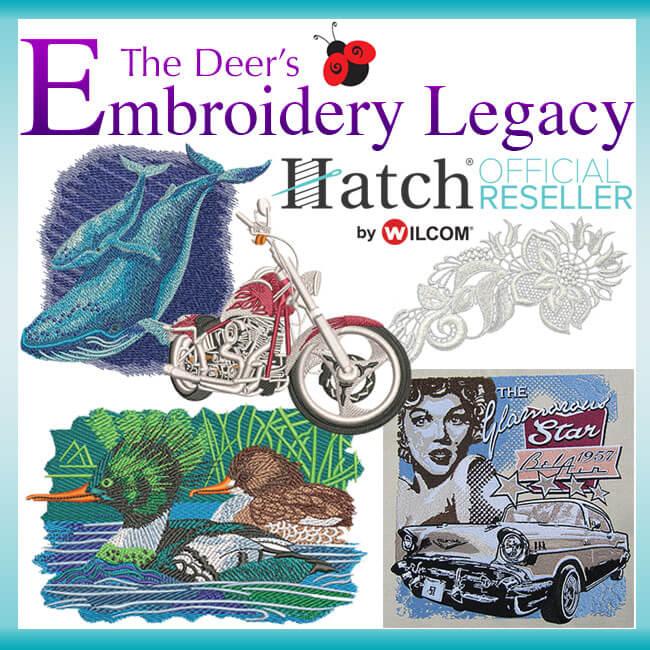 Hatch Embroidery Software Bonus Designs