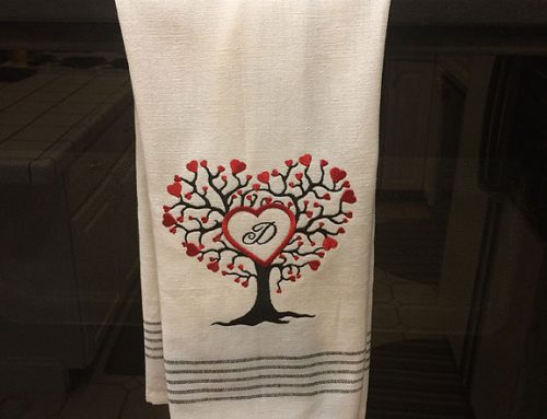 How to Embroider on Terry Cloth Towels