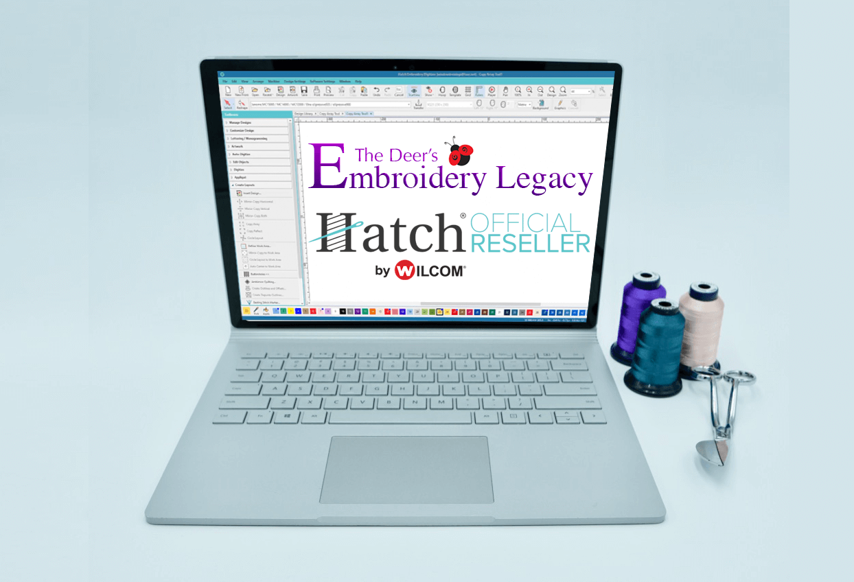 Embroidery Legacy Download Free Hatch Embroidery Trial