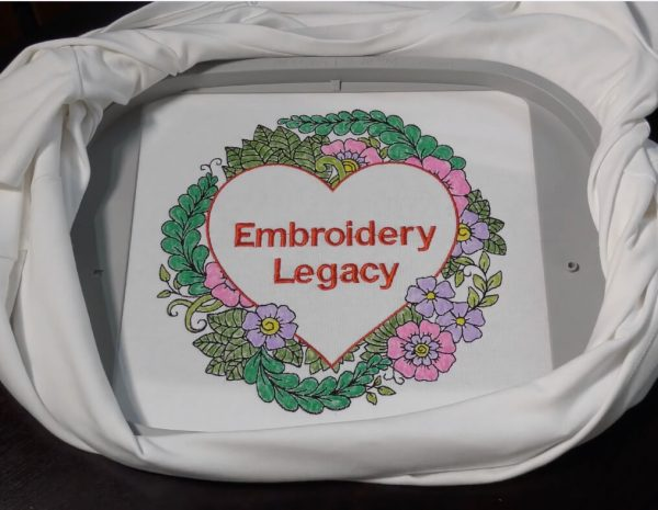 Free Color Embroidery Design