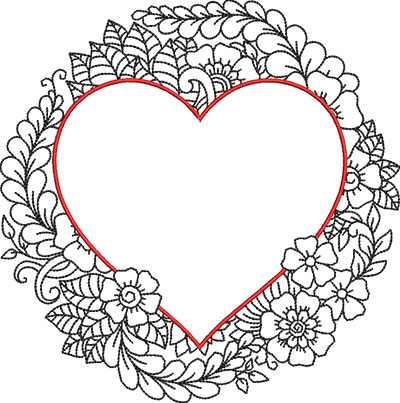 color my heart 1 embroidery design