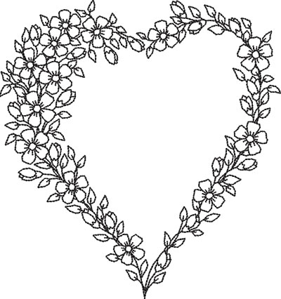 color my heart 2a embroidery design