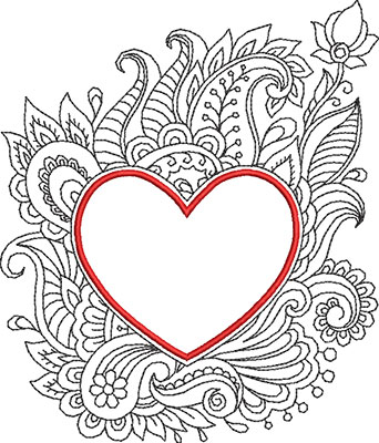 color my heart 3 embroidery design