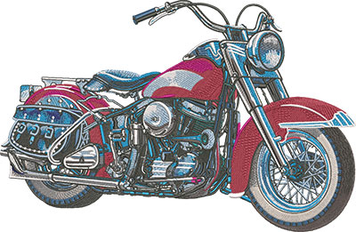 Embroidery Legacy - EA Classic Motorcycle