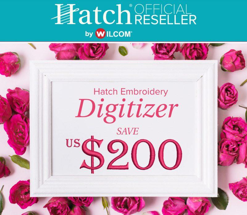 Hatch Digitizer Valentines Sale