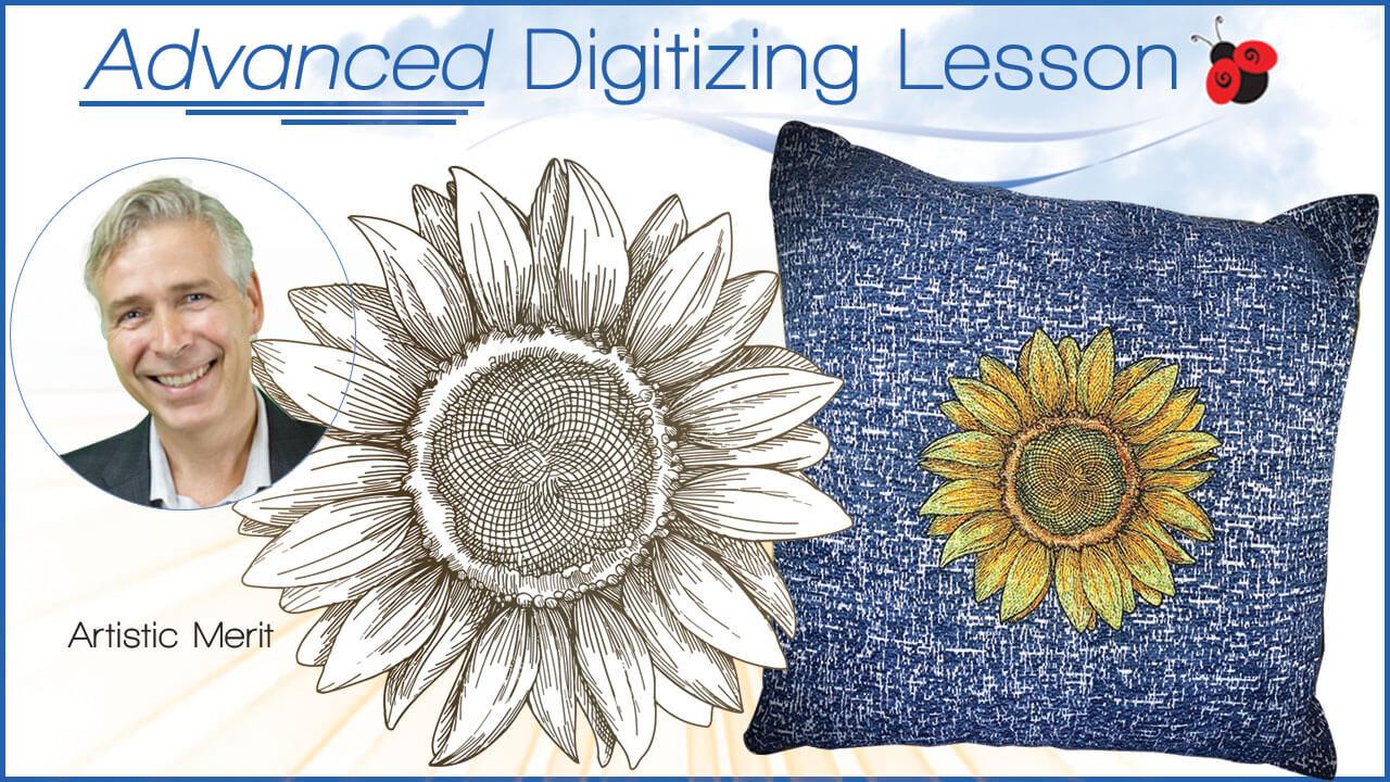 advanced artistic merit digitizing lesson