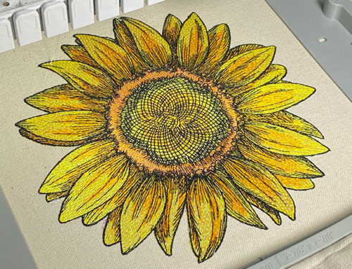 Color Blending in Embroidery Digitizing