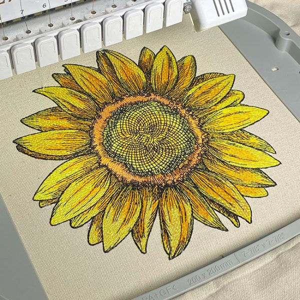 Advanced embroidery digitizing lesson artwork