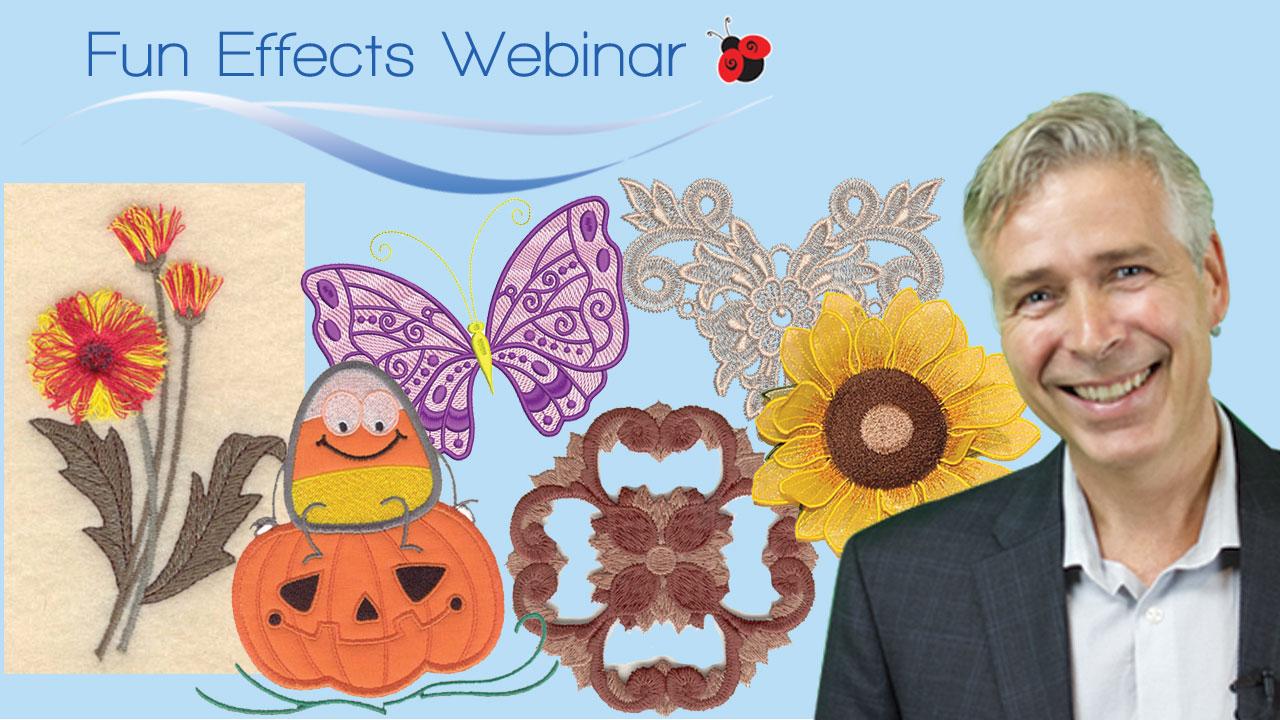 Fun effects embroidery webinar