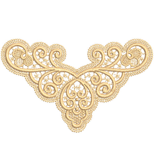 Freestanding Lace Embroidery Designs