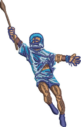 lacrosse jump embroidery design