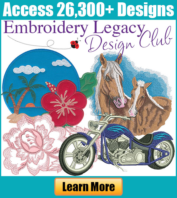 Embroidery Legacy Design Club
