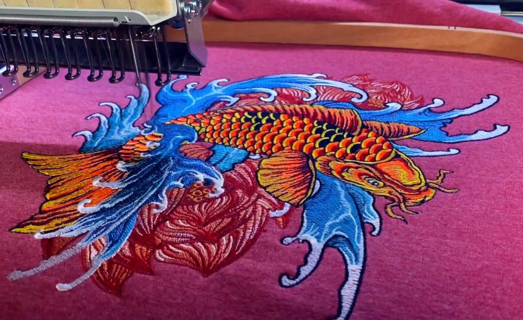 Japanese Art Koi Fish Design